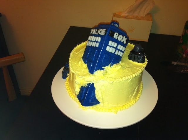 17 Best Ideas About Doctor Who Cakes On Pinterest Tardis