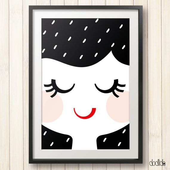 Kids poster, kids room decor, nursery decor by Dodlido on Etsy