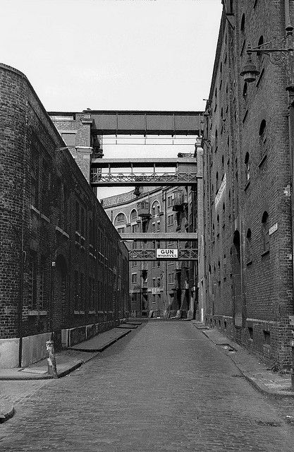 Gun Wharves Wapping High Street by Nick_Fisher, via Flickr 1974