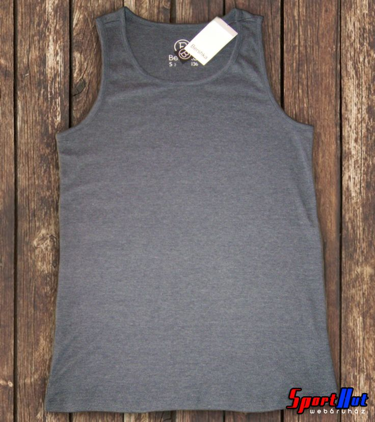 Bershka férfi trikó - szürke színben