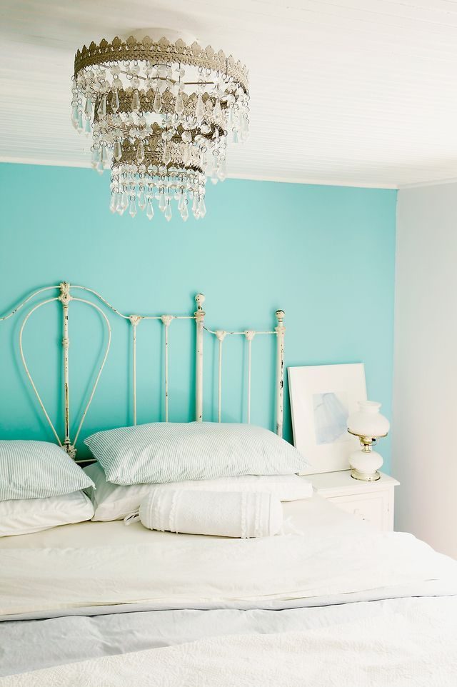 Benjamin Moore - Fairy Tale Blue - 2055-50 - Discover the top 10 aqua paint colors for your home. Aqua paint is hot right now -- find the right one for your space.