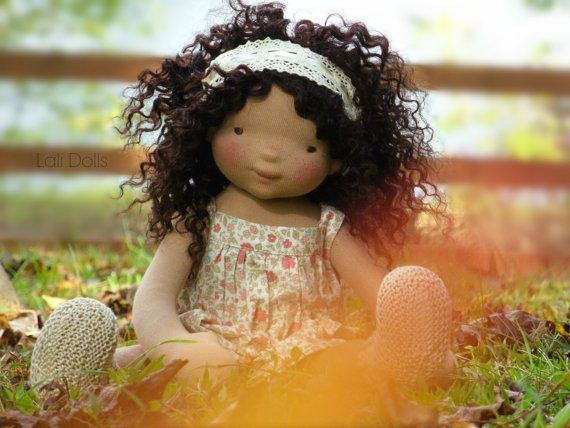 PDF Pattern & Kit Wild Flower Doll by LaliDolls on Etsy