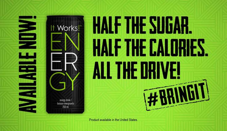 Get a 12 pack of ENERGY for only $29 as a loyal customer!! Packed with B vitamins and none of the jitters!