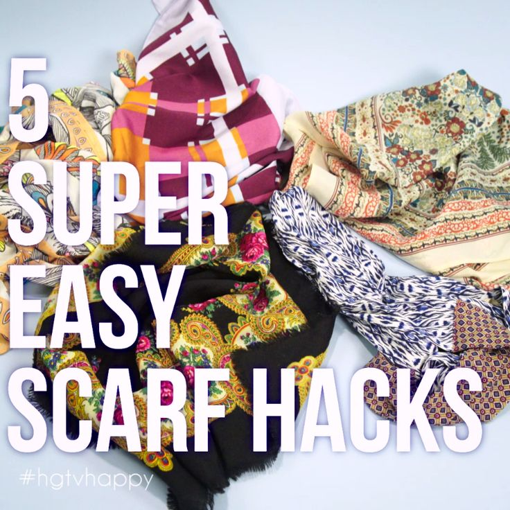 5 Super Easy Scarf Hacks