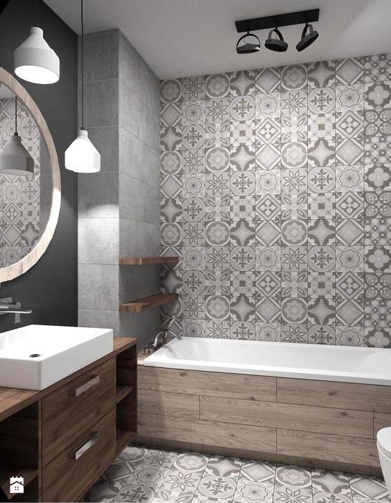 Aranżacje wnętrz - Łazienka: Mieszkanie Wrocław 50 m2 - Średnia łazienka w bloku bez okna, styl industrialny - RT Studio. Przeglądaj, dodawaj i zapisuj najlepsze zdjęcia, pomysły i inspiracje designerskie. W bazie mamy już prawie milion fotografii!