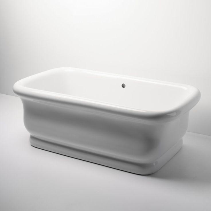 Master Bath Waterworks Empire Freestanding Rectangular