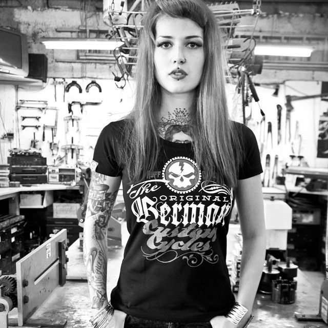 96 Best Tattoed Girls Motorized Images On Pinterest -6033