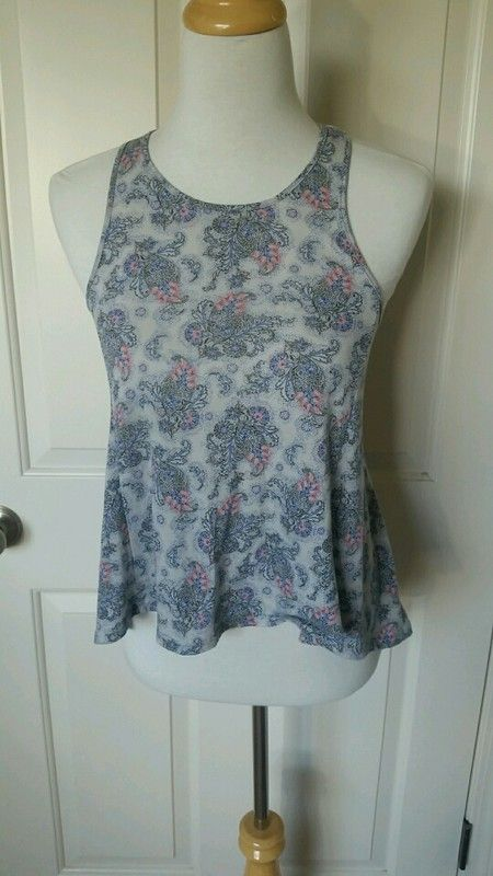 Fun patterned racer back tee from American Eagle
