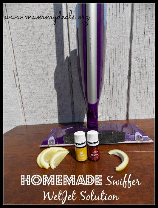 Homemade Swiffer Wetjet Solution Is Free Of Chemicals And