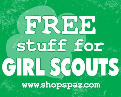 Girl Scout Freebies – Free Stuff for Girl Scout Leaders | Shop Spaz Girl Scout Leader Help