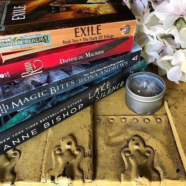 Which Book Should I Read Exile By R A Salvatore Rebecca By Daphne De Maurer Magic Bites By Ilona Andrews Urban Fantasy Books Romantic Suspense Ilona Andrews