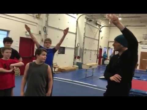 Gymnastics Team Boys Training! | Pacific Rim Athletics | Backflip, Flare...