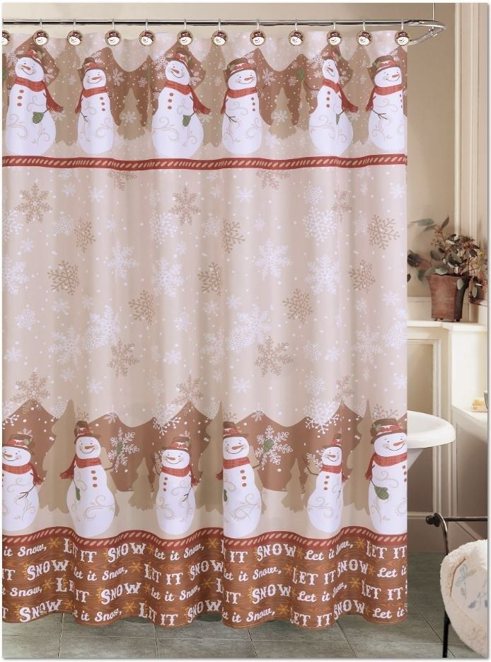 The 25 Best Snowman Shower Curtain Ideas On Pinterest Christmas Shower Curtains Xmas