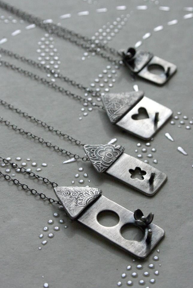 Super fun artisan jewelry by The Rare Bird