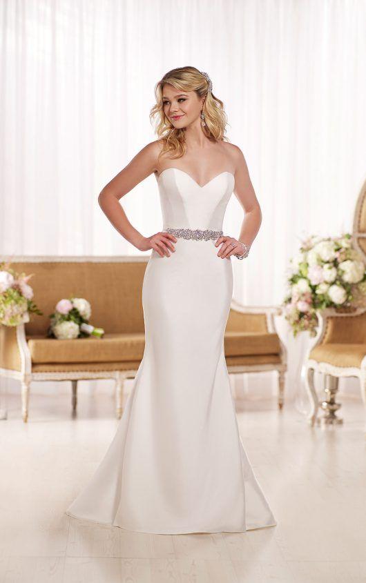 D1744 A-Line Wedding Dress by Essense of Australia
