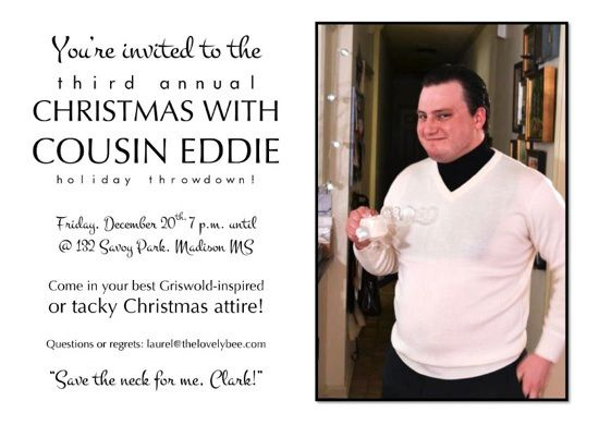 Cousin eddie christmas vacation sweater