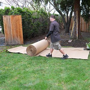 Sheet mulching...How to remove a lawn Ready to save water and get rid of your grass? Here's how to get it done right