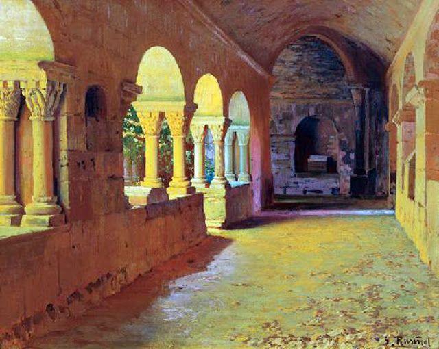El claustro de Sant Benet de Bages