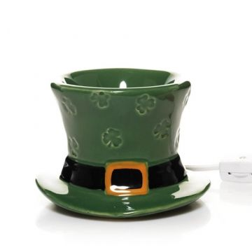 Luck O' The Irish Collection (Online & Catalog Exclusive) : Lucky Hat Electric Wax Melts Warmer : Yankee Candle