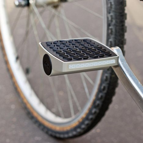 A bicycle pedal that can notify the owner if their vehicle has been moved was launched at the Consumer Electronics Show this week