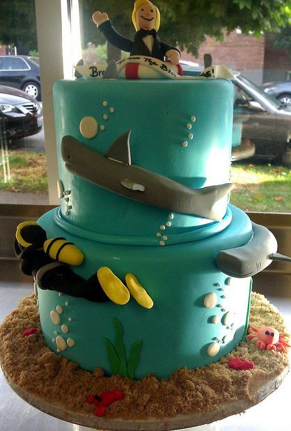 174 Best Images About Beach And Ocean Cakes On Pinterest