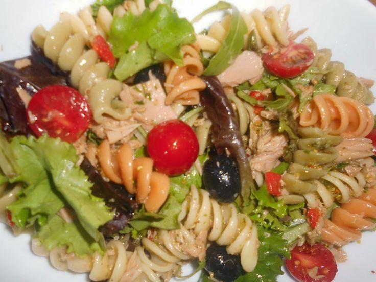 Ventura´s kitchen: Salada de Atum com Vinagrete de Pistáchio