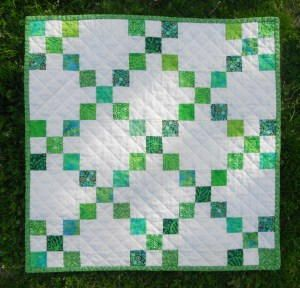 http://www.favequilts.com/Mini-Quilts-and-Doll-Quilts/Mystical-Moors-Irish-Chain-Quilt