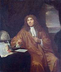 Antonie van Leeuwenhoek, un vendedor de telas holandés, descubridor de las bacterias!