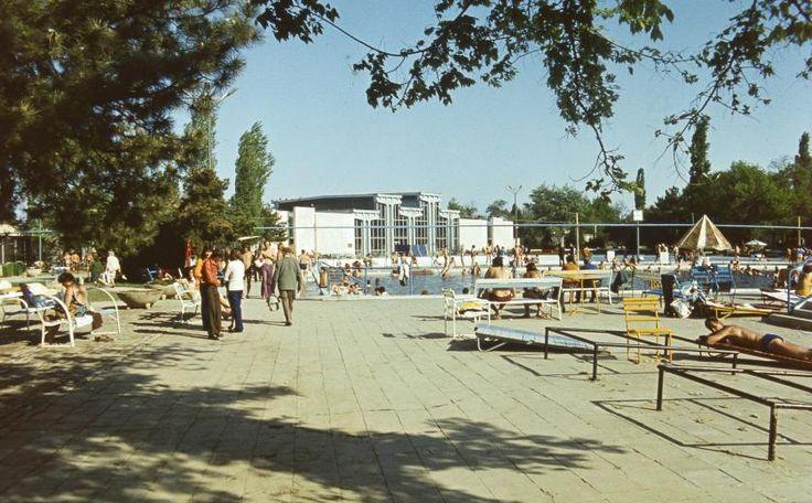 Ilyen volt Hajdúszoboszló az 1970-es években.