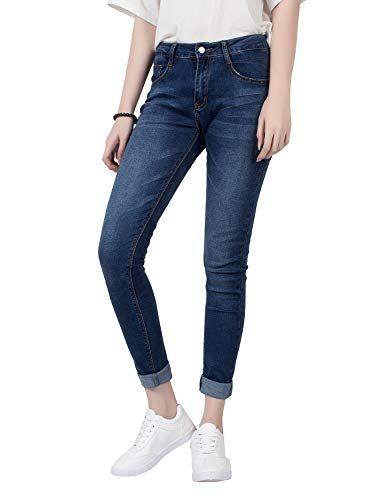 df2cd13bdafa Demon Hunter 812 Series Femme Skinny Jeans DH8102(27)
