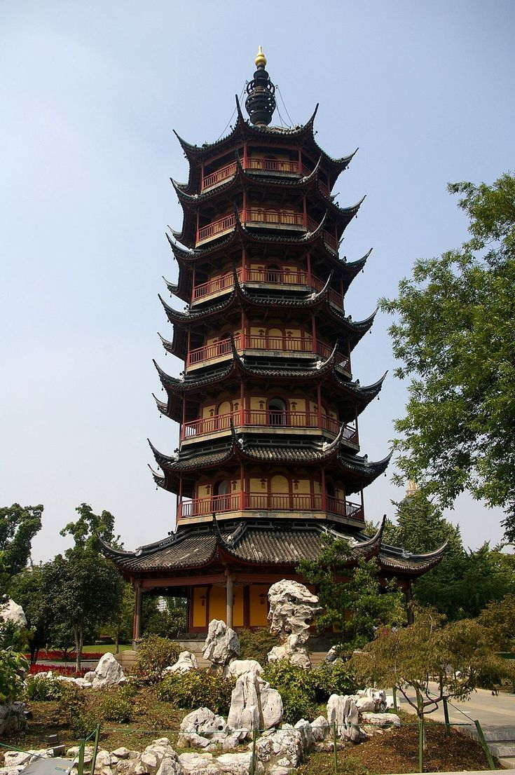 Wenbi Pagoda in Changzou from the Northern Song Dynasty.