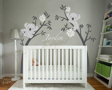 kids wall decoration tropical nursery decor