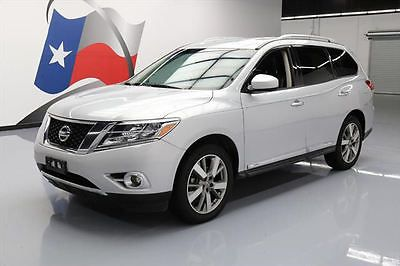 awesome 2013 Nissan Pathfinder PLATINUM LEATHER NAV 20'S - For Sale