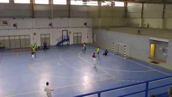 Partido de fútbol sala categoria cadete temporada 2014/2015 fase B, entre los equipos de Oroquieta Espinillo y Ciudad de Alcorcon B, con el resultado final de 2 a 0 a favor de Oroquieta Espinillo.