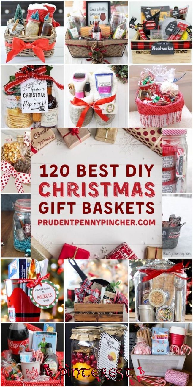 Pin By Connee Hodson On Christmas In 2020 Christmas Gift Baskets Diy Christmas Gift Baskets Unique Christmas Gifts Diy