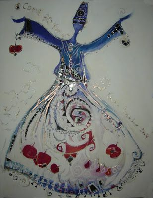 ♥ Whirling blues