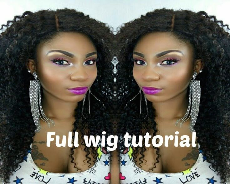Au Naturale Hair Styles: How To: Lace Closure Wig Tutorial.