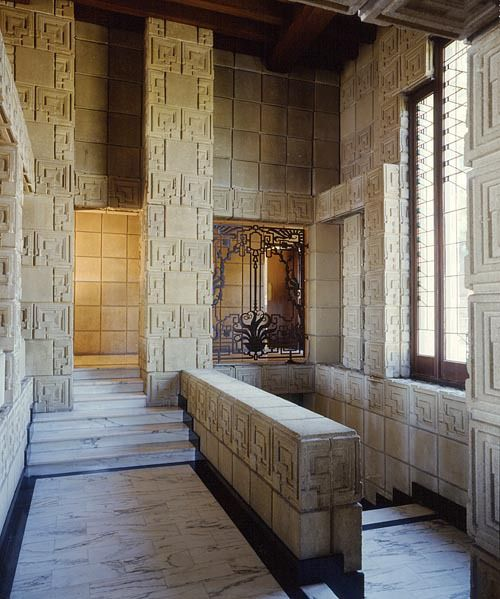 78 Best Wright Ennis House Images On Pinterest