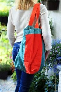 casual bag SPRING BIRD, inner page