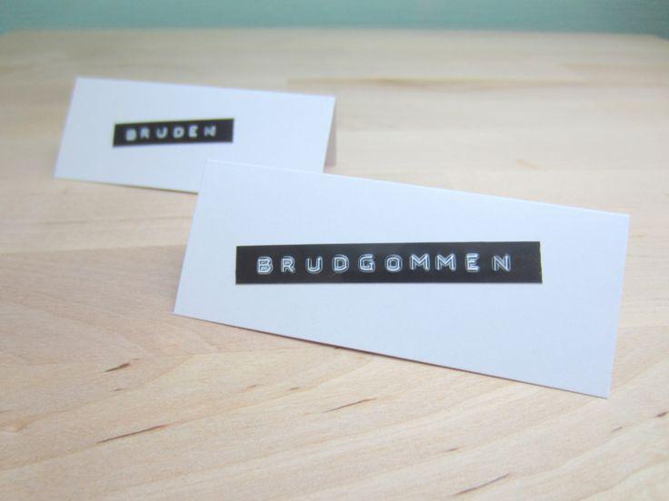 Bordkort (Gjørdetselvbryllup - Bryllupsblogg med DIY ideer til bryllupet)