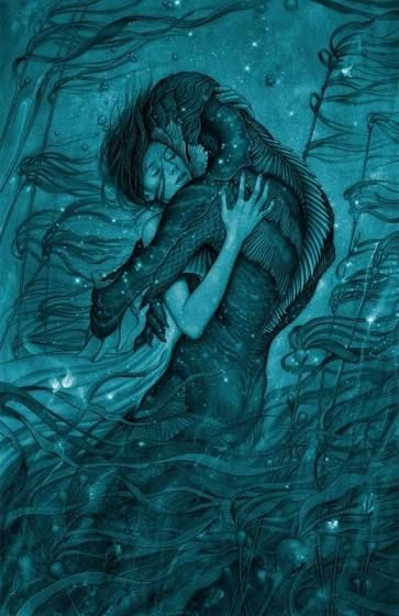 the shape of water movie poster buy