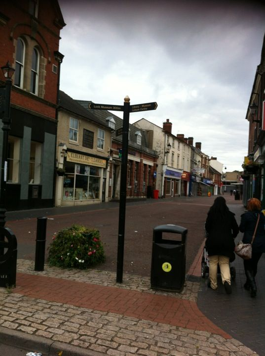 not the upmarket place we'd love to brag about but its my home town Willenhall in West Midlands, West Midlands