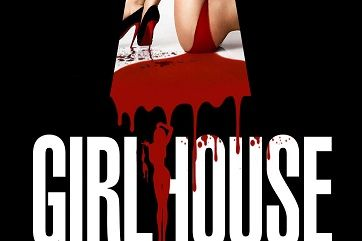 Girl House (2014) review by Kath Rella. Directed by Trevor Matthews and Jon Knautz. Starring Ali Cobrin, Adam DiMarco, Slaine and Alyson Bath.
