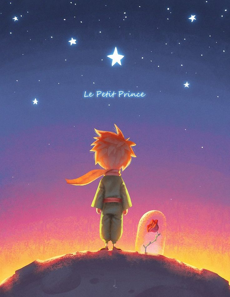 the little prince fox wallpaper
