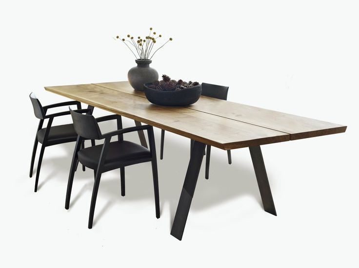 EXTENDING RECTANGULAR TABLE PLANK BY NAVER COLLECTION | DESIGN NISSEN AND GEHL