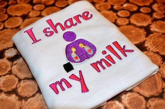 Milk-Sharing Advocacy Tee by ThePerfectTension on Etsy