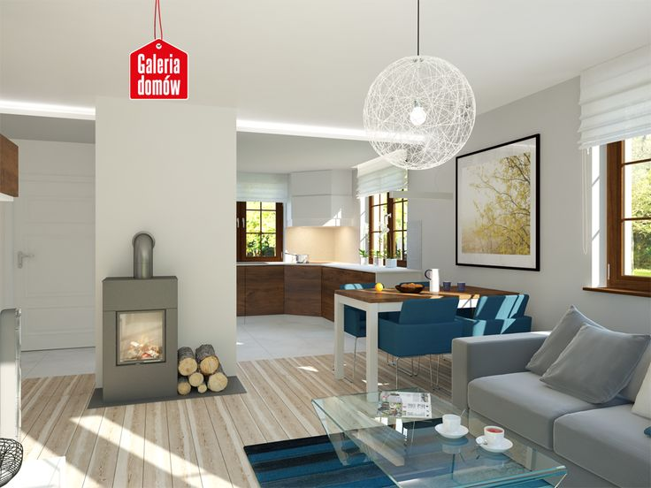 Wnętrze domu przy Cyprysowej 26  Pomysły do domu  Pinterest -> Kuchnia Kaflowa Domu