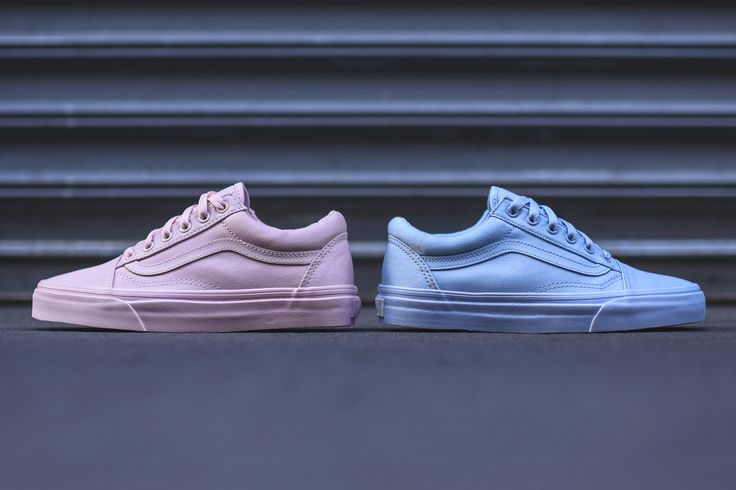 Sneakers femme - Vans Old Skool Mono Pack (©kith)