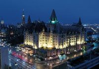 Fairmont Chateau Laurier, Ottawa, Canada: Just 12 days before the hotel's grand opening in 1912, its chairman, Charles Melville Hays, died on the Titanic. Some say Hays did indeed make it for the opening, and that his spirit still occasionally makes an appearance to 21st-century staff and guests. Posted by Hideaways International.
