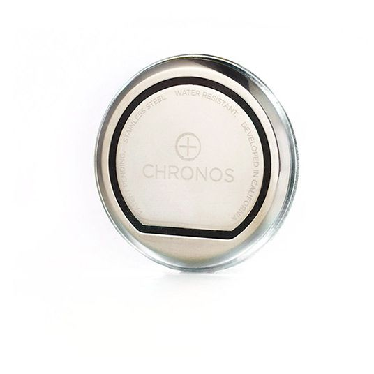 Chronos is a discreet disc that transform any watch into a smart watch.